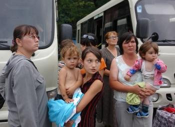 В Курскую область продолжают прибывать беженцы