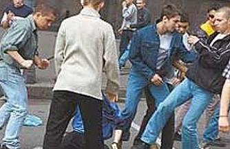 Чеченцы снова подрались с калмыками