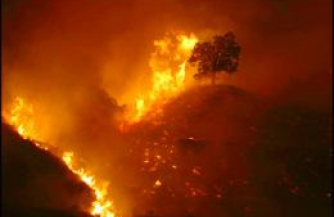 фото огненный шторм