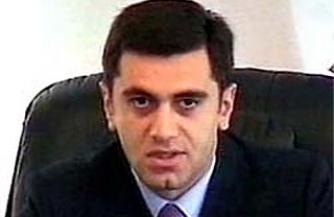 У охраны Окруашвили идет пена