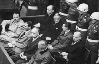 Было время, когда нацистов судили