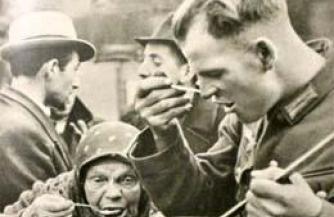 Польские солдаты на службе Гитлера