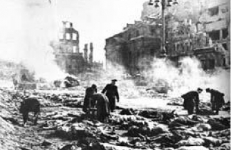 Количество жертв в Дрездене подсчитать невозможно