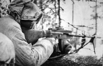 Обмороженные финские солдаты