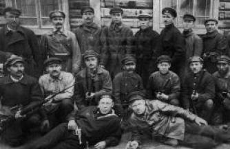 Эксперимент с Красной Гвардией