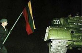 Контуры литовской провокации 20-летней давности