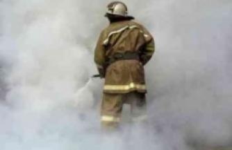 Пожар в интернате