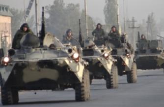 Горный батальон принял бой