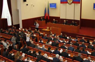 Кризис парламента Дагестана