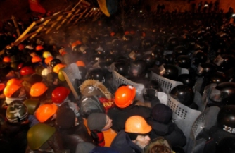 В центре Киева прошли столкновения