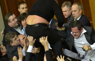 Евромайдан в парламенте Грузии