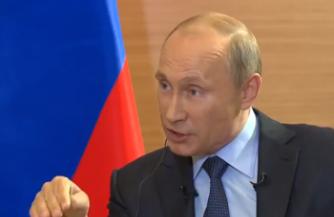 Путин очаровал французов