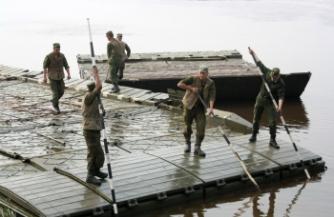 Борьба с паводком на Алтае
