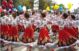 Молдавские игры на свежем воздухе