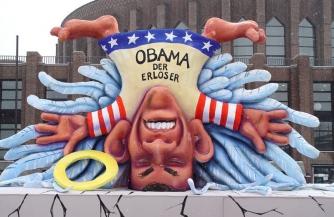 Обаму сбили