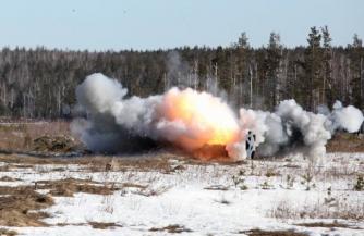 Русская армия готовит огнеметчиков
