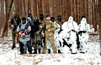 Пожар под ногами укронацистов