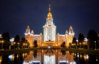 В МГУ уже отмечают День Победы