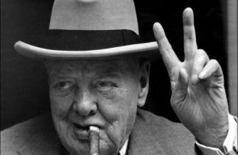 Герой Черчилль и русские дети