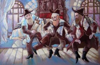 Гнилая защита сиониста