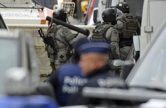 Брюссель на осадном положении