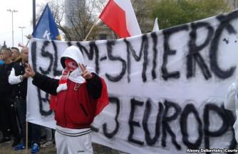 Марш поляков против мигрантов