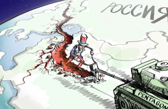 Огненное кольцо вокруг России