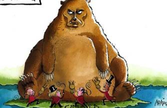 Шакал славословит медведя