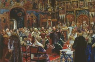 Имперец на патриаршьем престоле