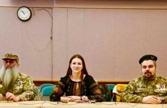 Украинская делегация в США