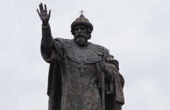 Памятник Ивану III Великому на Угре