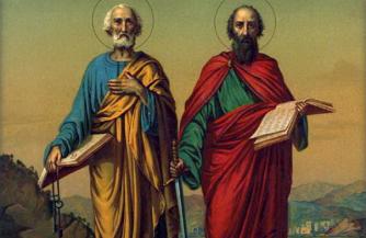 Апостолы, Рим и Русь