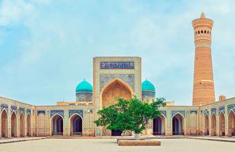 Bukhara city - one of the major tourist centers of Uzbekistan