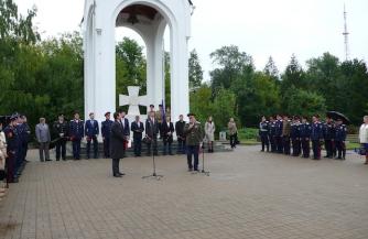 «Георгиевский крест» установлен в Калуге