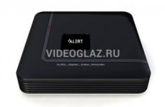 Компания «Видеоглаз» рекомендует IP видеорегистратор на 4 видеоканала Alert ANVR-400L