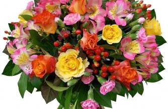 Как выбрать свежую и красивую цветочную композицию для подарка?