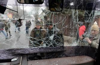 Застыл контуженный Донбасс…