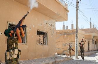 Финал битвы за Ракку