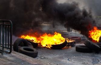 В Киеве пахнет дымом