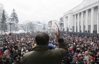 Саакашвили раздавил
