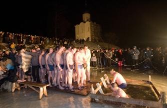 Теплое Крещение