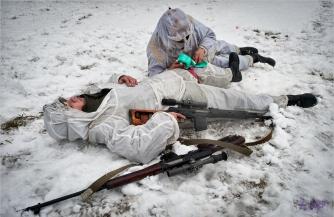 Укронацисты бьют по Горловке