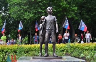 Убитые дети Донбасса
