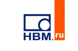 Оригинальные тензодатчики от Hottinger Baldwin Messtechnik GmbH