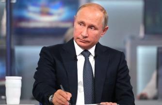 Путин: Донбасс без поддержки не оставим