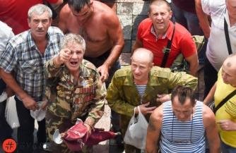 Попытка штурма парламента в Киеве