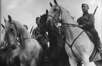 Триумф советской кавалерии