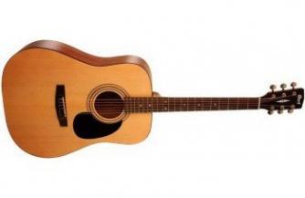 Нужна акустическая гитара для начинающего? Купите Cort!