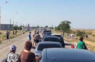 Украинцы штурмуют Крым