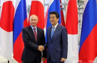Путинский забег на японском этапе